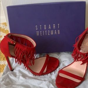 Stuart Weitzman LOVEFRINGE heel